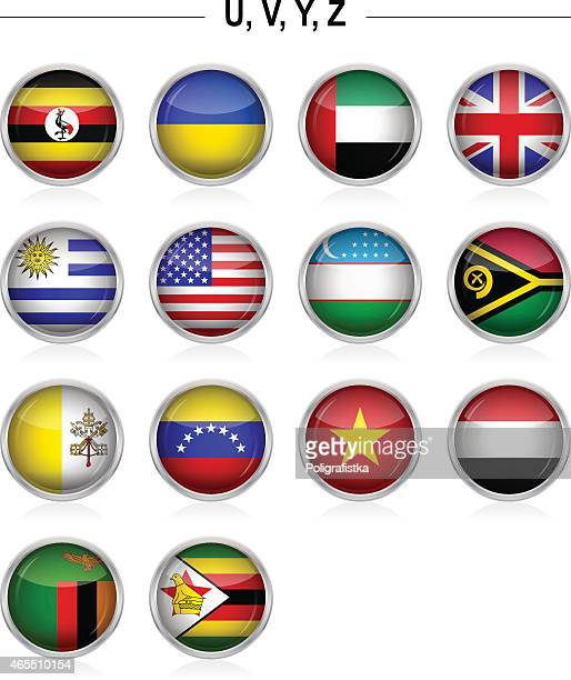 "Flags icon - ""U"", ""V"", ""Y"", ""Z"""