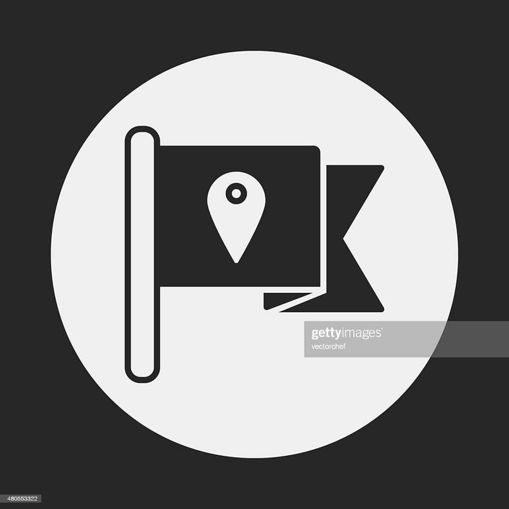 flags icono de : Arte vectorial