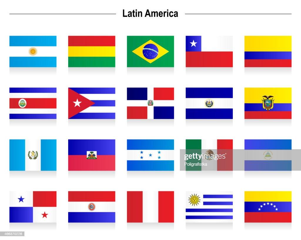 Flags - Latin America