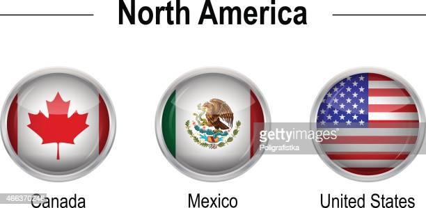 Banderas-América del Norte