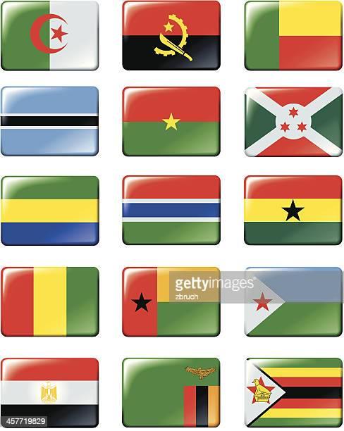 Flaggen von Afrika