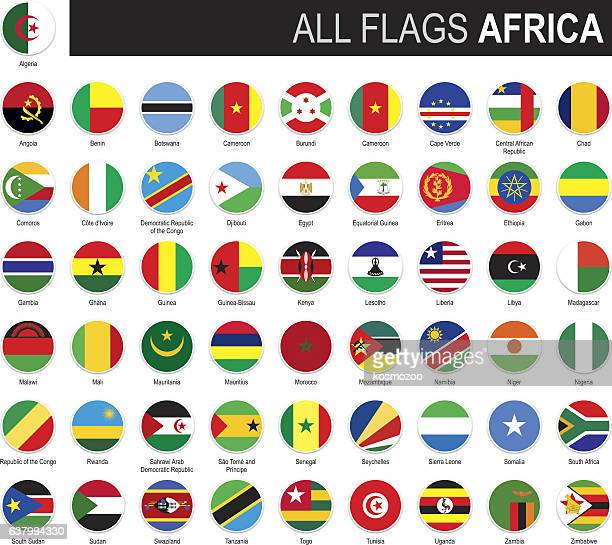 flags of africa - senegal stock illustrations, clip art, cartoons, & icons