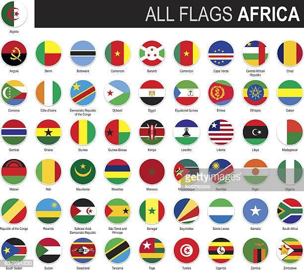 ilustrações, clipart, desenhos animados e ícones de flags of africa - ethiopia