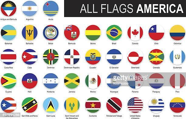 ilustraciones, imágenes clip art, dibujos animados e iconos de stock de six flags of america - américa del sur