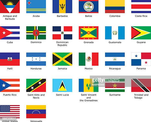flags of Caribbean