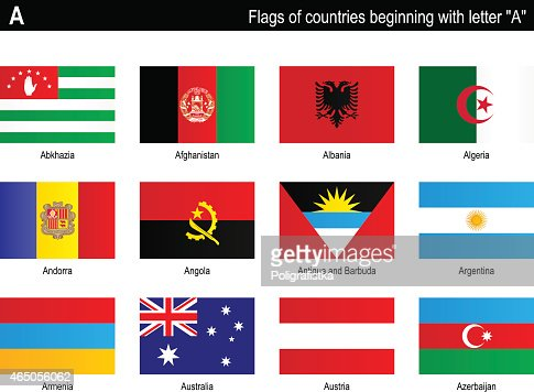 Flags Countries A Vector Art