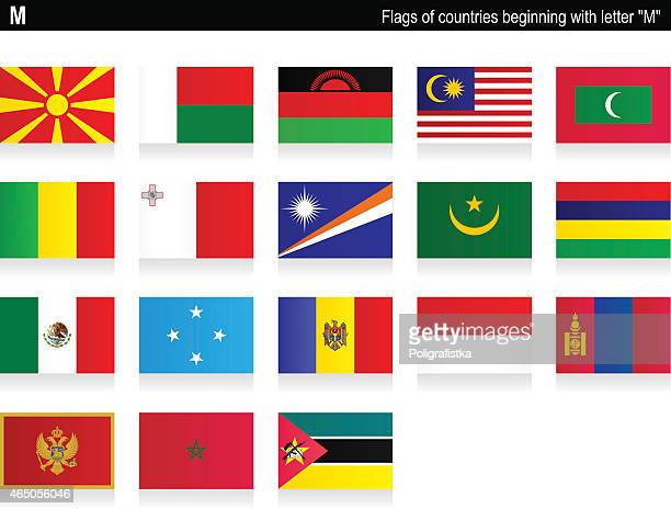 "flags of countries - ""m"" - marshall islands stock illustrations, clip art, cartoons, & icons"