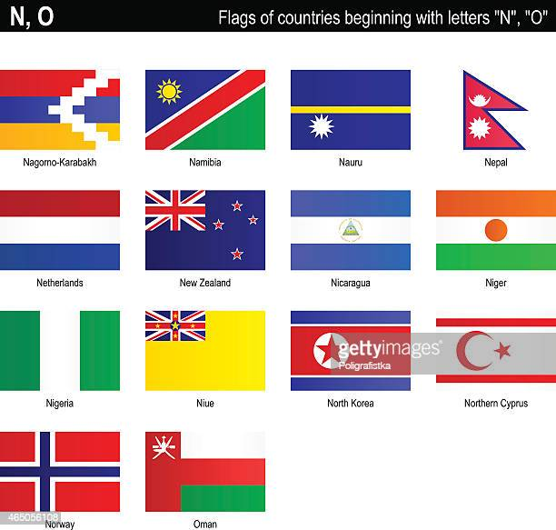 "flags of countries - ""n"", ""o"" - nauru stock illustrations, clip art, cartoons, & icons"