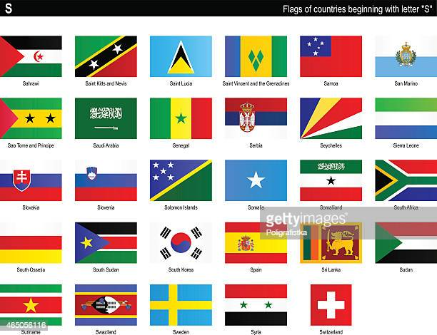 """Flags of countries - """"S"""""""