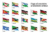 Flags of Eastern African states
