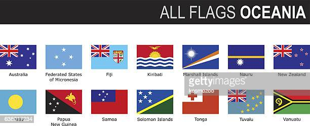 flags of oceania - marshall islands stock illustrations, clip art, cartoons, & icons