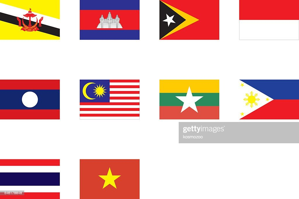 flags of Southeast Asia