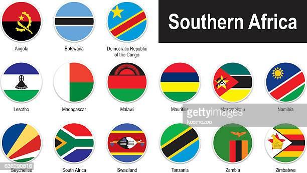 ilustrações, clipart, desenhos animados e ícones de bandeiras da áfrica do sul - ilhas maurício