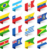 Flags of the World, South America.