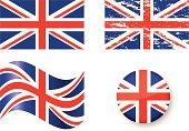 Flags of Unite Kingdom