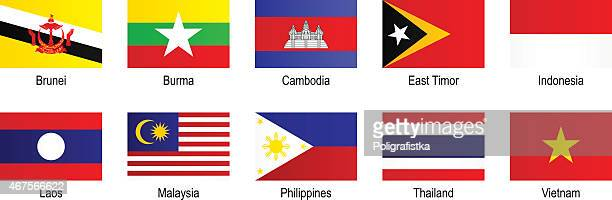 Flags - Southeast Asia