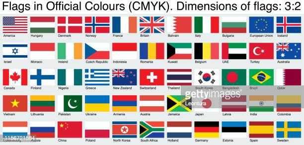 flaggen, verwenden die offiziellen cmyk farben, verhältnis 3:2 - russische flagge stock-grafiken, -clipart, -cartoons und -symbole