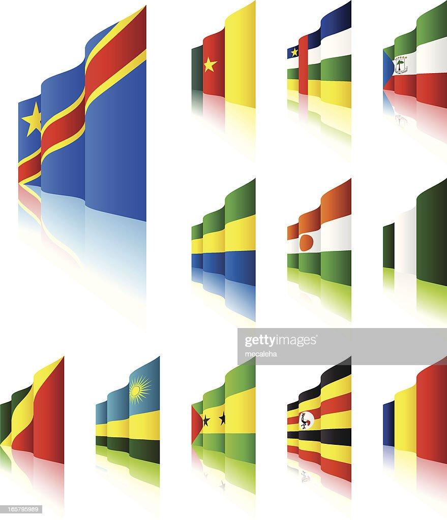 3D Flags