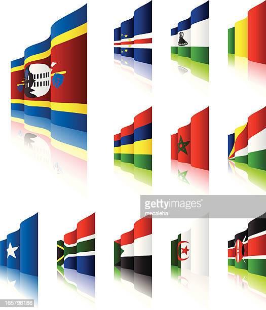 3d flags - mali stock illustrations, clip art, cartoons, & icons