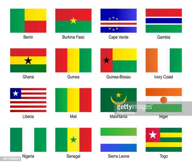 Flags - West Africa