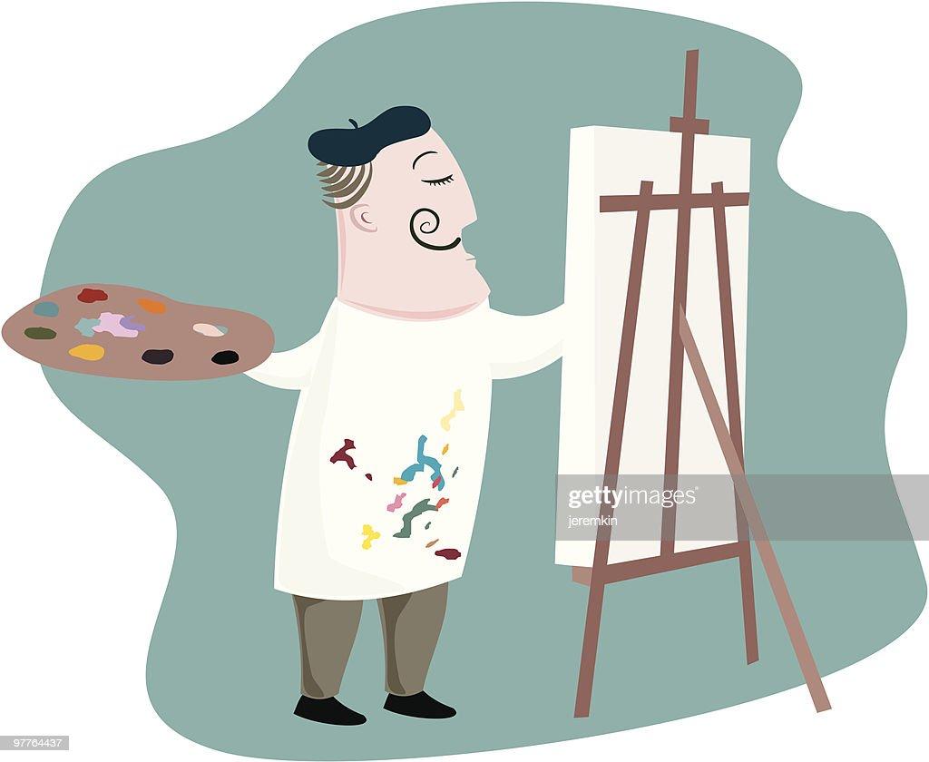 Flamboyant Artist