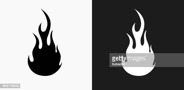 30 Meilleurs Flamme Fond Blanc Illustrations Cliparts