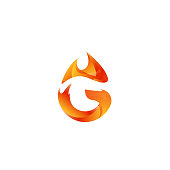 G flame icon
