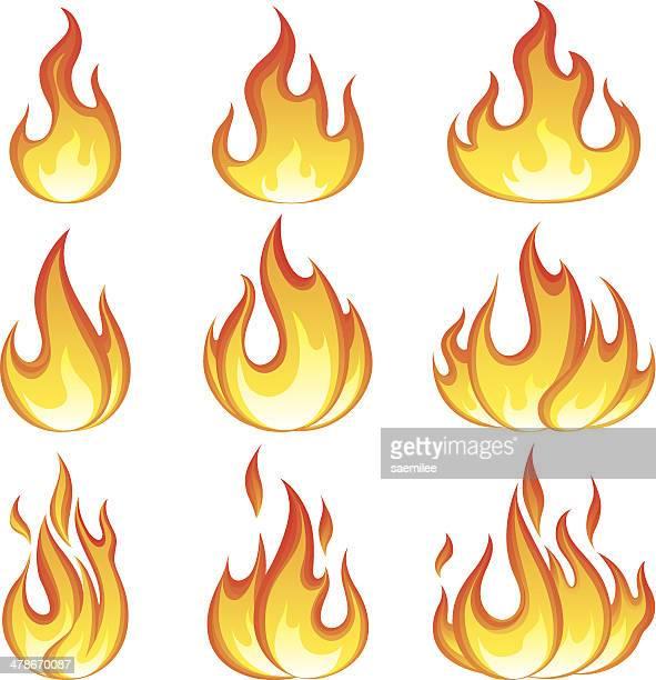 Flammen-set