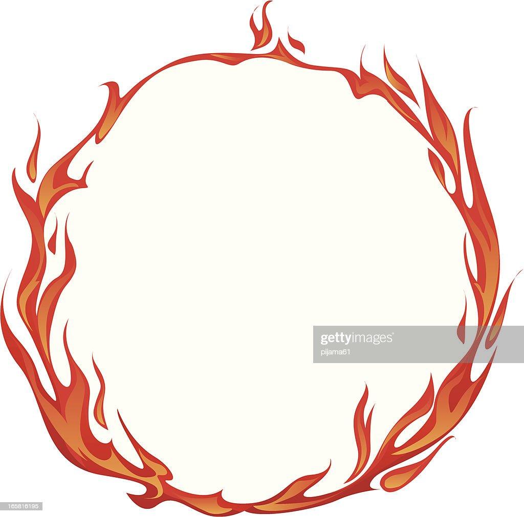 flame : stock illustration
