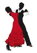 Flamenco dance image