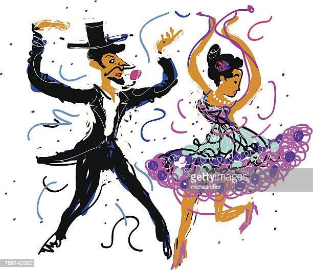 flamenco dancers - spanish dancer stock illustrations, clip art, cartoons, & icons