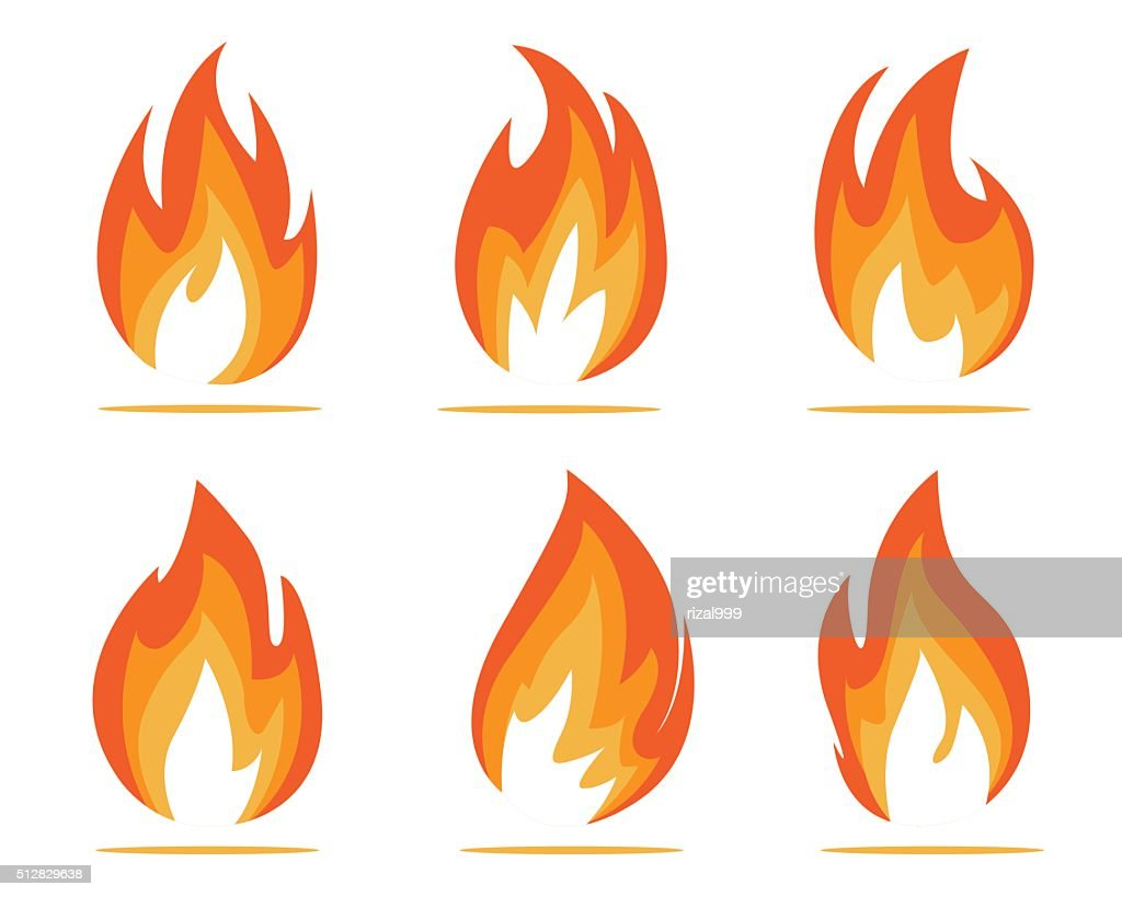 flames illustration