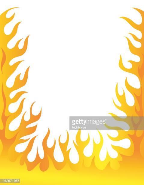 Illustrations Et Dessins Animés De Flamme