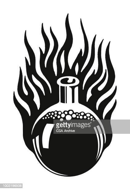 Flaming Flask of Liquid