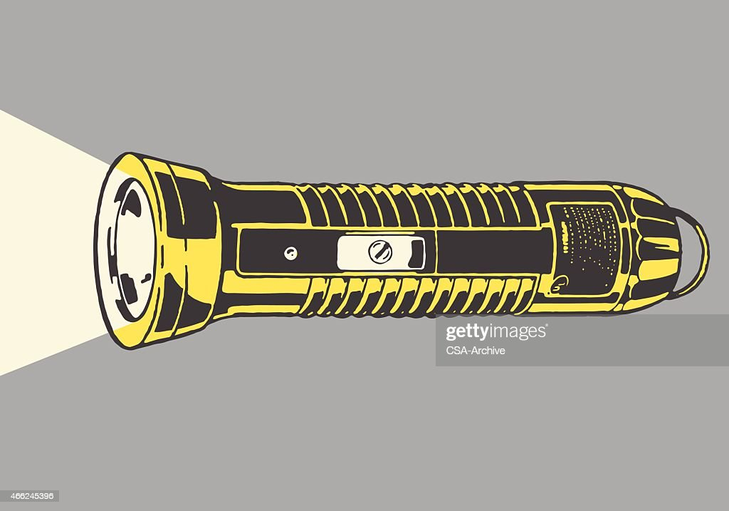 Flashlight : stock illustration