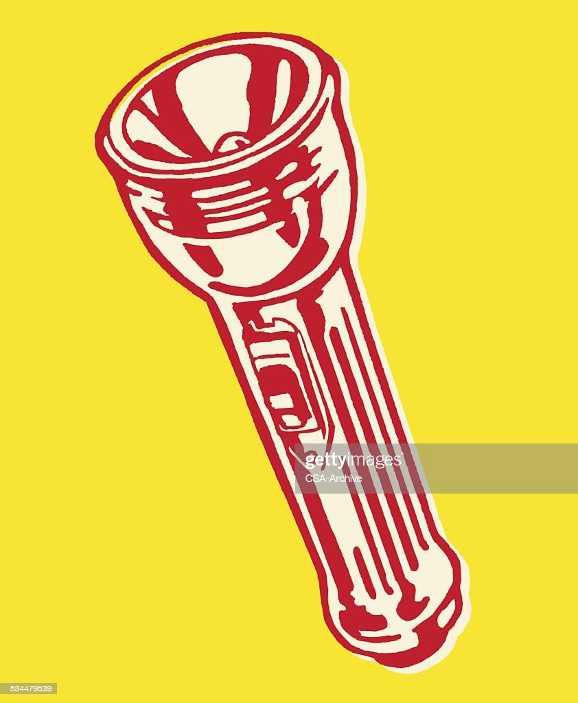 Flashlight : stock illustration