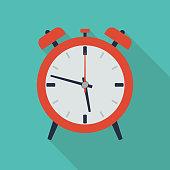Flat Alarm Icon