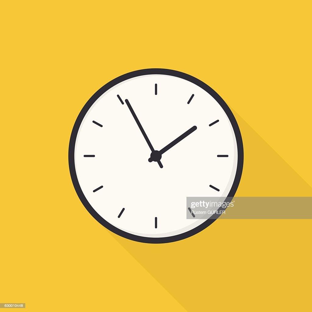 Flat Clock