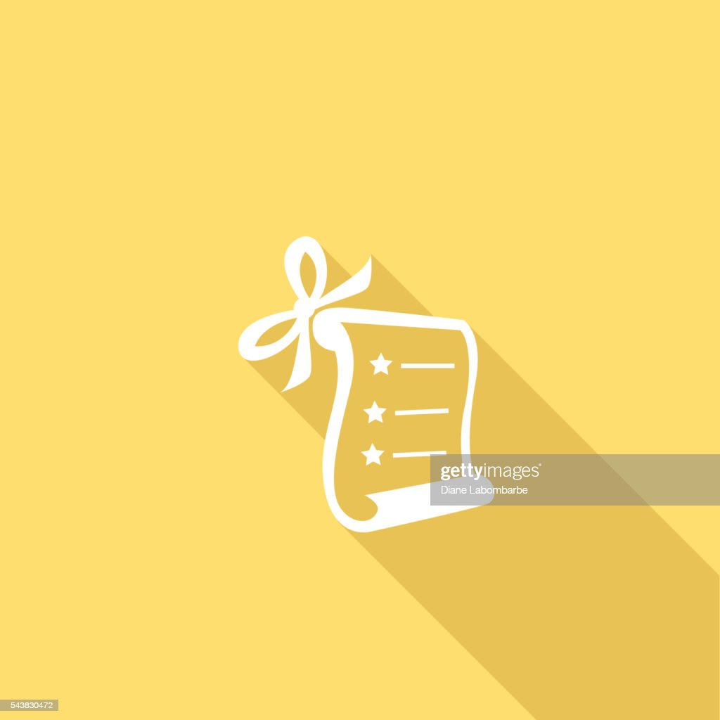 Flat Color UI Long Shadow Website Wedding Icon