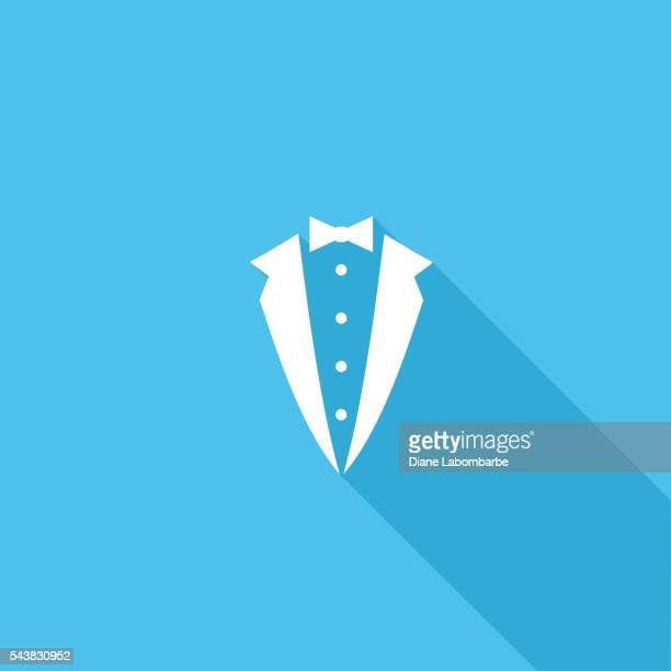 Flat Color UI Long Shadow Website Wedding Icon