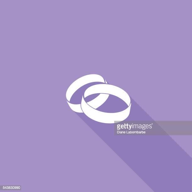 Téléviseur couleur UI grande ombre icône de site Web Mariage