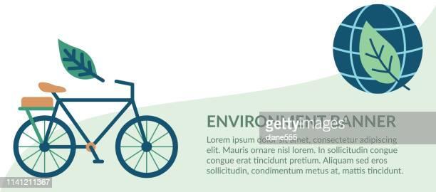Flach-Design-Umwelt Icons