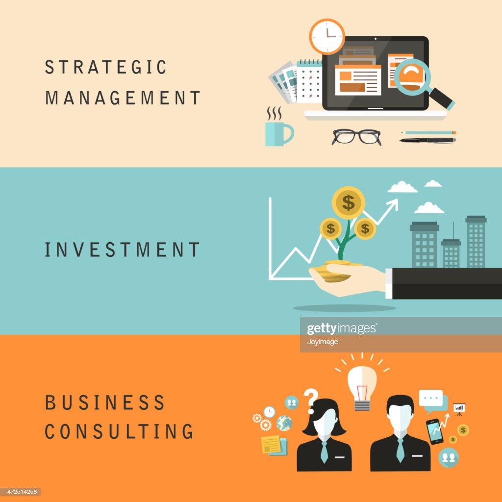 flat design for business concept