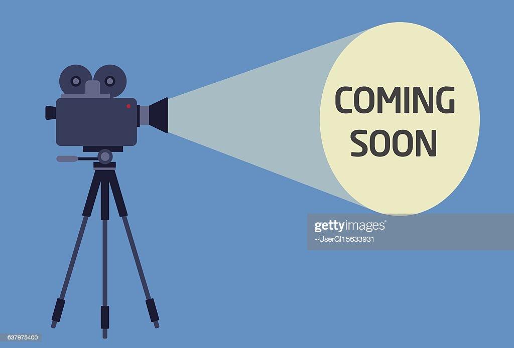 Flat Design of Video Camera With Light Beam