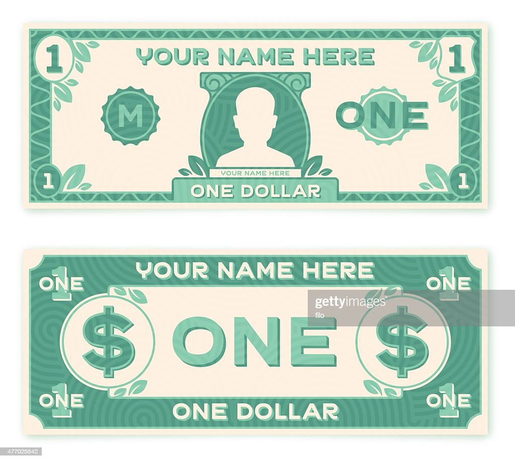 Flat Design Paper Money