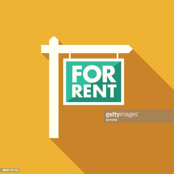 Search For Rental: World's Best For Rent Sign Stock Illustrations