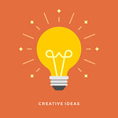 Flat design vector business illustration concept Creative idea