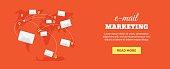 Flat e-mail marketing banner