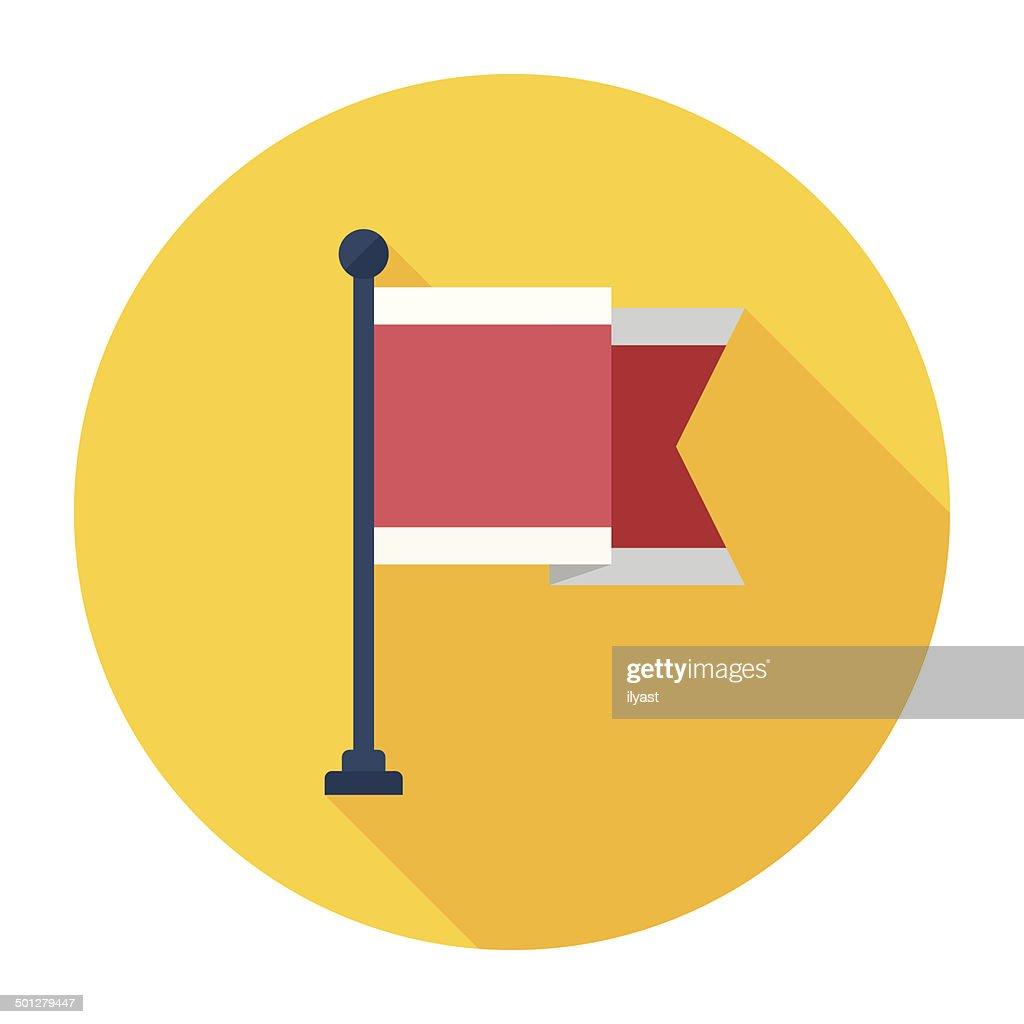 Flat Flag Icon