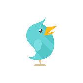 Flat icon - Bird